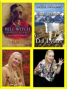 Debbie Dunn aka DJ Lyons with both published books