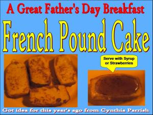 French Pound Cake