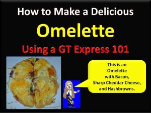 Omelette Tutorial Title Page