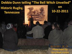 Telling the story of the Bell Witch Unveiled at Historic Rugby
