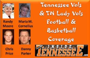 TN Vols & TN Lady Vols Football & Basketball Coverage by 4 Great Sports Writers